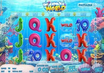 underwater world free spins